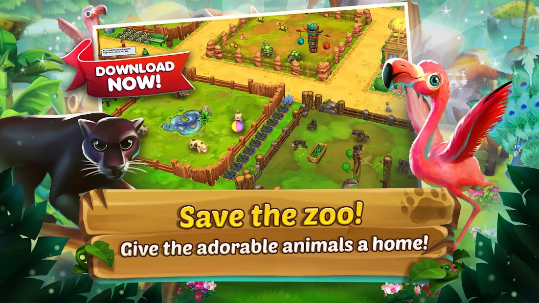 Zoo 2: Animal Park Android App Screenshot