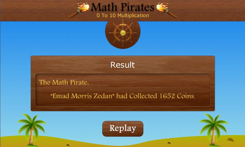 Math Pirates- screenshot
