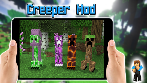 creeper mod for minecraft pe screenshot 3