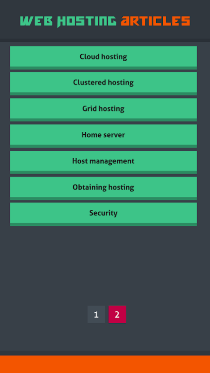 Web Hosting Articles – (Android Apps) — AppAgg