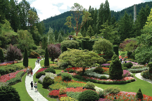 victoria-BC-Butchart-Gardens.jpg - Take a stroll through the famous Sunken Garden at Butchart Gardens in Victoria, BC.