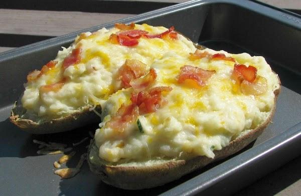 Twice Baked Jalapeño Potatoes Recipe