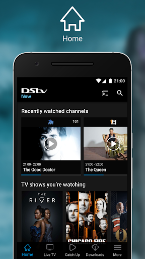 DStv Now: Watch live sport, shows & news on the go 2.2.11 screenshots n 1