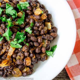 Easy Southwest Seasoned Black Beans.