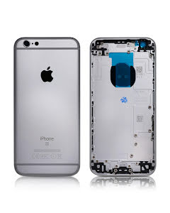 iPhone 6S Housing without small parts HQ Silver