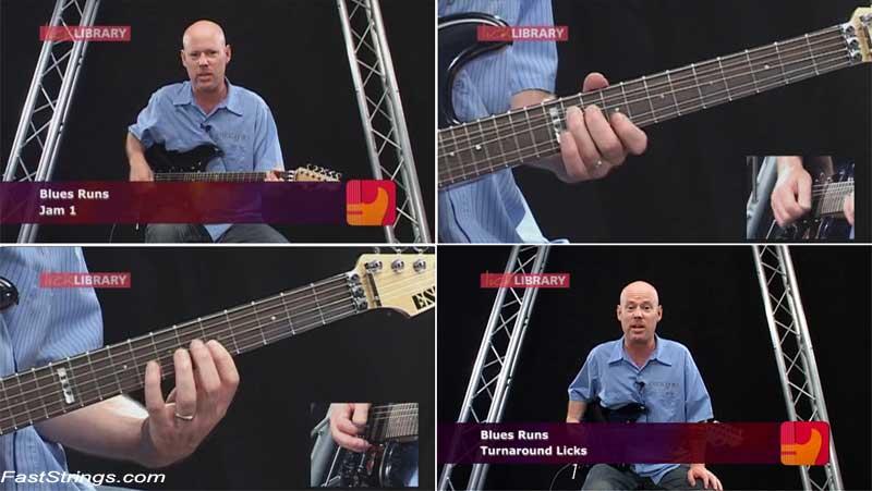 Ultimate Guitar Techniques - Fretburning Blues Runs
