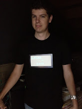 Photo: Craig's Lightboard shirt comes with:  -Mini-whiteboard for strategy on the go -Whiteboard marker -Whiteboard marker holder -Whiteboard cloth  Oh...and it lights up too!  See the video here: http://www.youtube.com/watch?v=Pi_RqsEhSSQ&feature=youtu.be