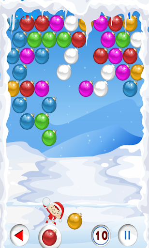 Christmas games Shooter bubble