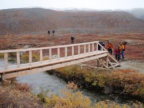 Photo: Greenland - Day 4 - new bridge at Ole's Lakseelv