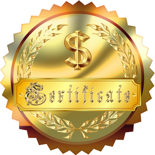 My Rich Certificate (Most Expensive App Ever)