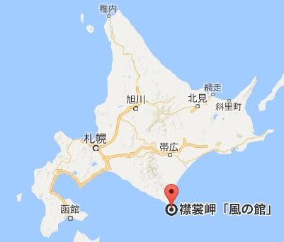 地図:襟裳岬