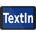 TextIn: text display icon