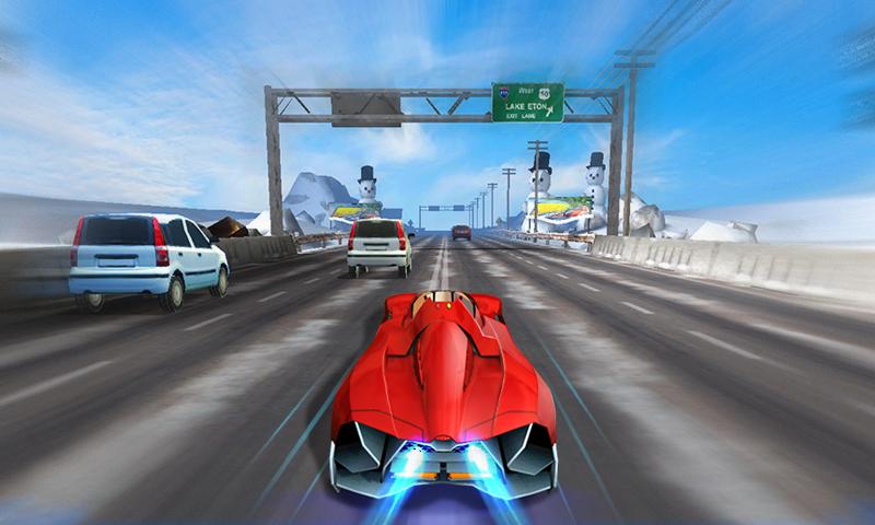 turbo racing car screenshot