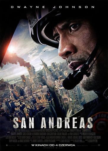 Przód ulotki filmu 'San Andreas'