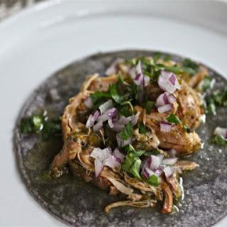 Slow-Cooker Chicken Tomatillo Tacos