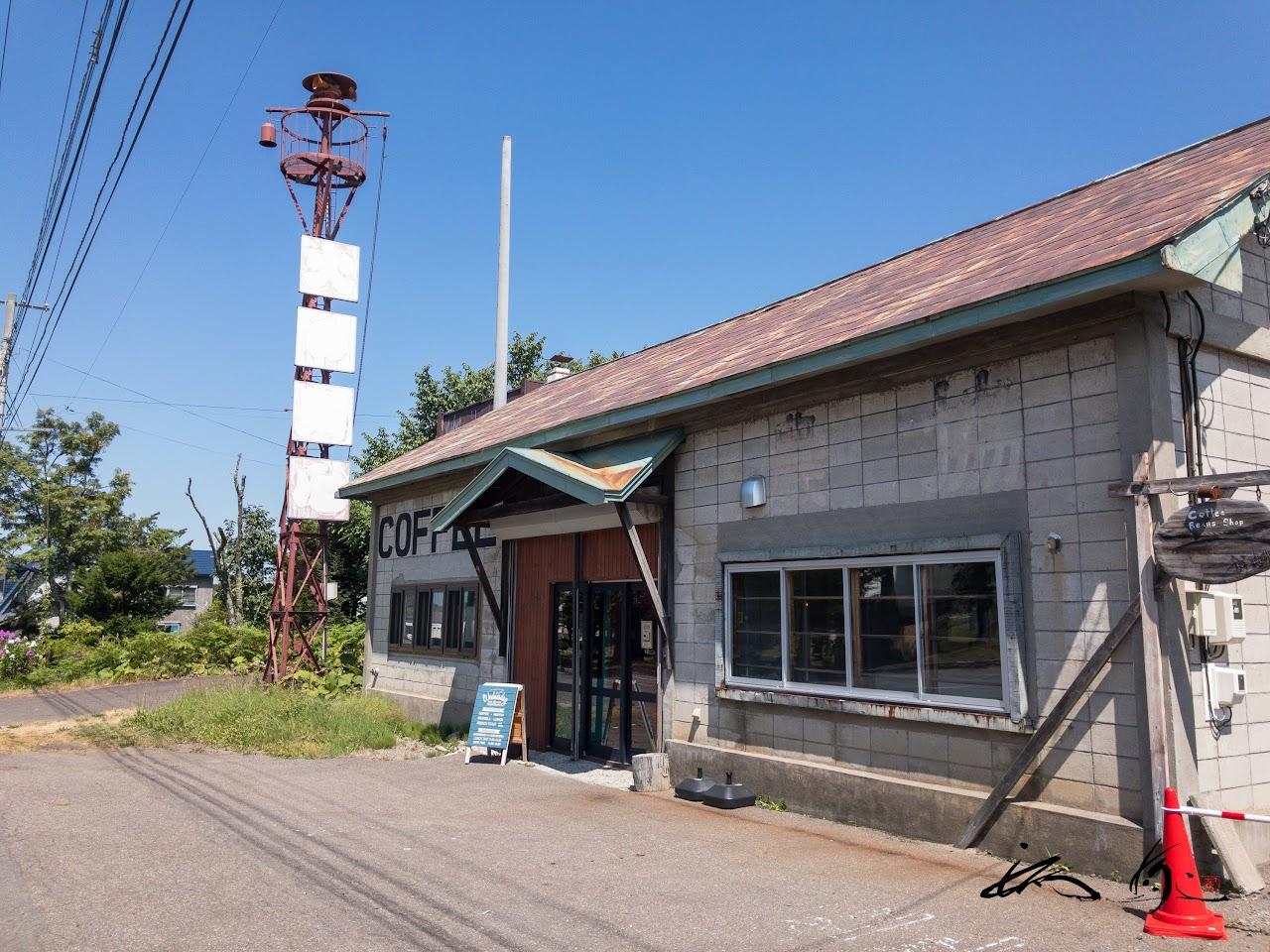 古い倉庫をリノベしたレトロン建物