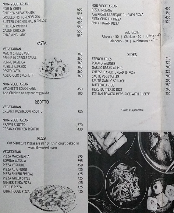 Menu 5 - Shabri Restaurant And Bar, Vile Parle East, Mumbai