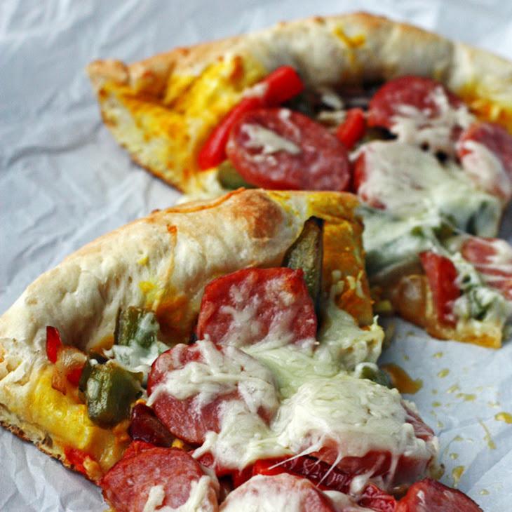 Sausage and Pepper Pizza Recipe