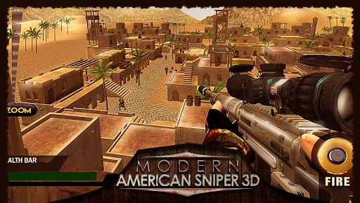 現代美國狙擊手3D