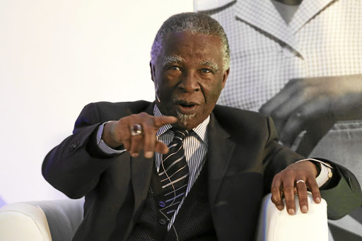 State ignored plan which would've resulted in R3.6-trillion being invested into economy - Mbeki
