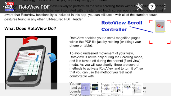 RotoView PDF Reader- screenshot thumbnail
