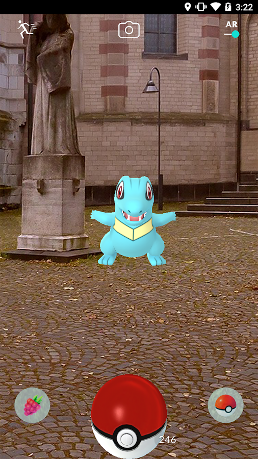 Pokémon GO – Screenshot