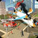 Airplane Fire Fighter  Ambulance Rescue Simulator icon