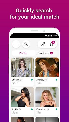 FlirtWith - Live Streaming Dating App screenshot