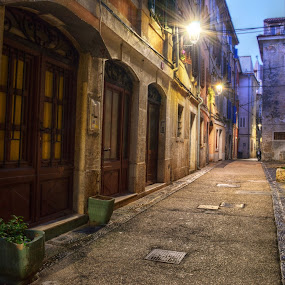 Walk With Me by Mara R. Sirako - City,  Street & Park  Historic Districts ( history, old house, cultural heritage, piran, pirano, old city, old town, stone, old building, medieval, historic,  )
