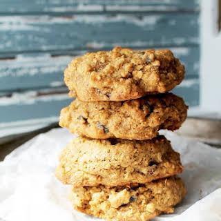 Oatmeal Raisin Spelt Cookies.