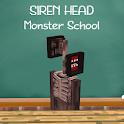 Siren Head: Monster School for MCPE icon
