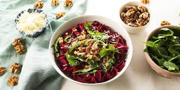 This Roasted Beet Pesto Is Fall On A Plate