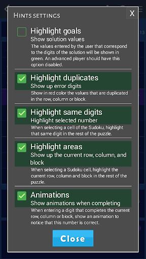 Sudoku classic screenshot 7