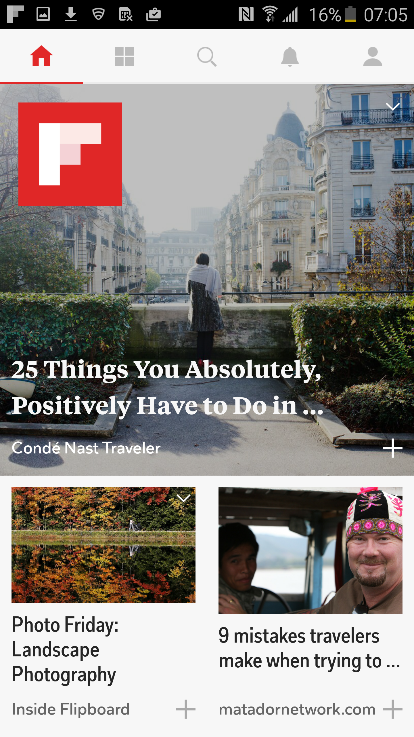 Flipboard: Your News Magazine screenshot #5