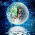 Fondos de Luna Romántica Full icon