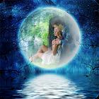 Moonlight Photo Live Wallpaper Full icon