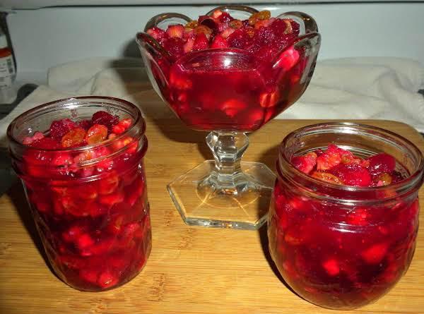 Cranberry Fruit Conserve
