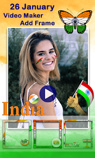 Republic Day Video Maker || 26 January Video Maker - náhled