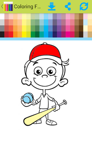 android Coloring For Children Screenshot 3