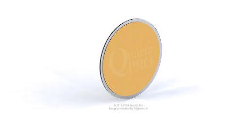 QCM 6 MHz 12,5 mm Cr/Au  Sloan, Ulvac