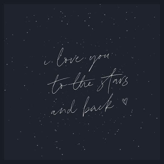 To the Stars & Back - Valentine's Day Template