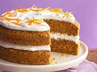 Carrot Cake With Fluffy Cream Cheese Frosting