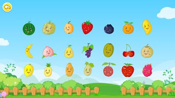 Screenshot of Fruits by BabyBus