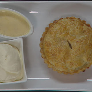 Apple Pie and Vanilla Custard.