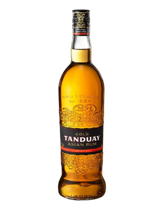 Tanduay Gold Asian Rum, Philippines (750ml) - Woods Wholesale Wine