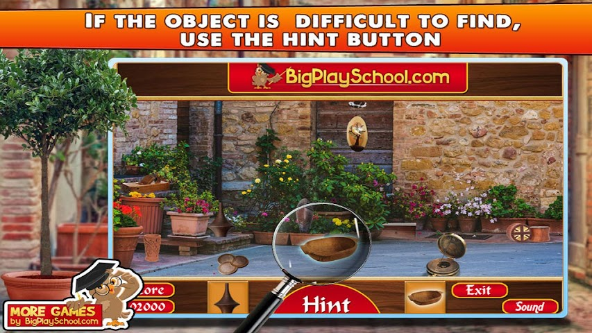 android Old Town - Find Hidden Object Screenshot 1