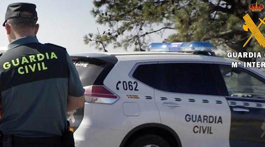 La rápida actuación de la Guardia Civil salva la vida de un joven de 21 años