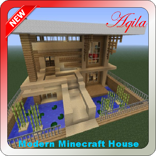 The idea of a modern home for minecraft 1.0 screenshots 1