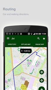 Jixi Map offline - náhled