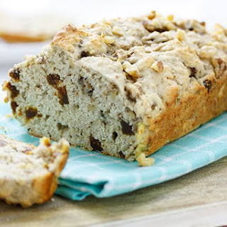 Banana, Fig & Walnut Bread.